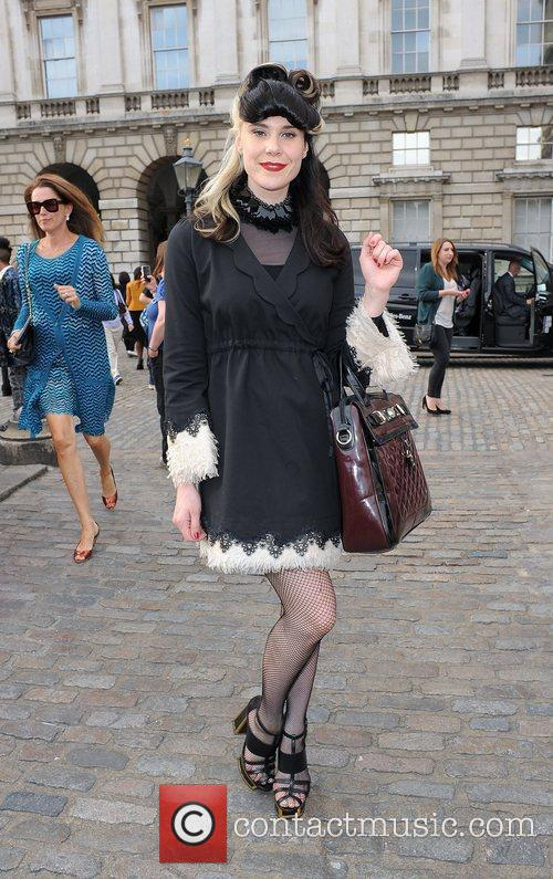 Kate Nash and London Fashion Week 3
