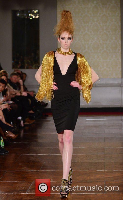 Model and London Fashion Week 2