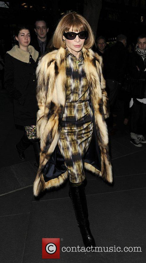 Anna Wintour and London Fashion Week 5