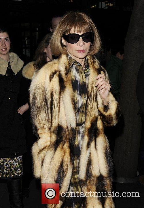 Anna Wintour and London Fashion Week 7