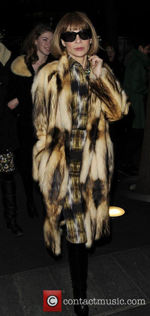 Anna Wintour and London Fashion Week 8