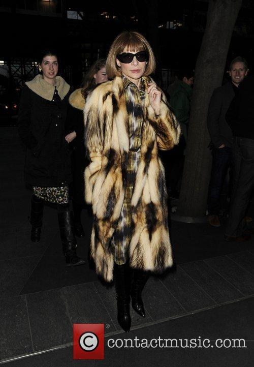 Anna Wintour and London Fashion Week 9