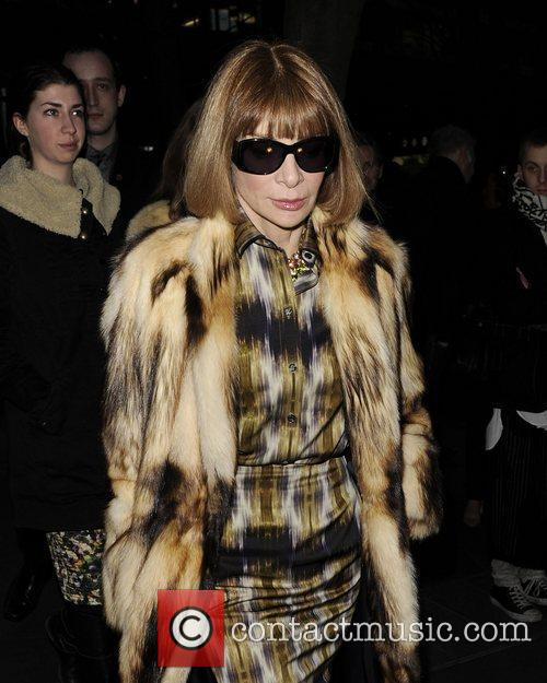 Anna Wintour and London Fashion Week 10