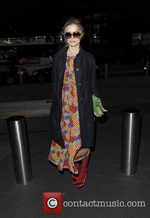 London Fashion Week 2012 Jonathan Saunders show arrivals.