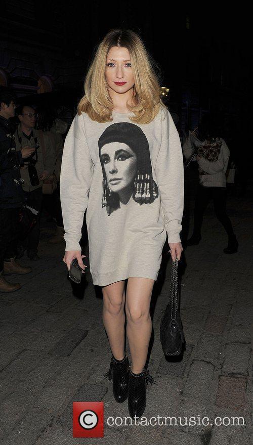 Nicola Roberts and London Fashion Week 8