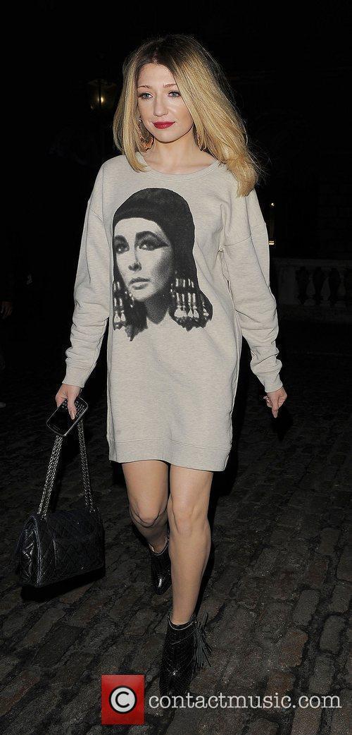 Nicola Roberts and London Fashion Week 9