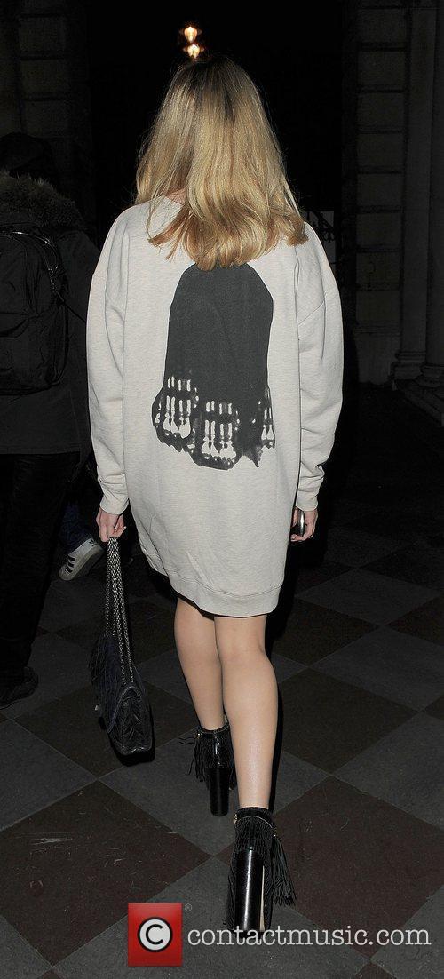 Nicola Roberts and London Fashion Week 1