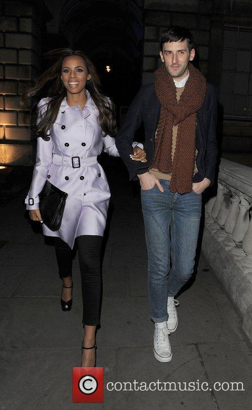 Rochelle Wiseman and London Fashion Week 4