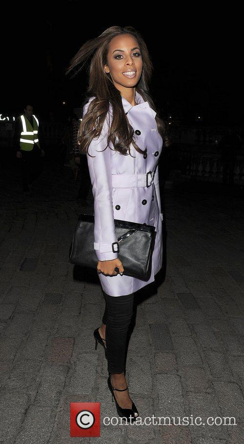 Rochelle Wiseman and London Fashion Week 10
