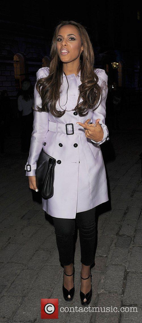 Rochelle Wiseman and London Fashion Week 11