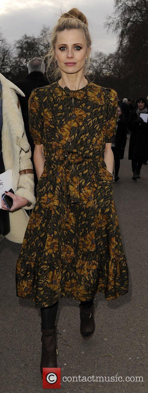 Laura Bailey Mark Fast Autumn/Winter London Fashion Show....