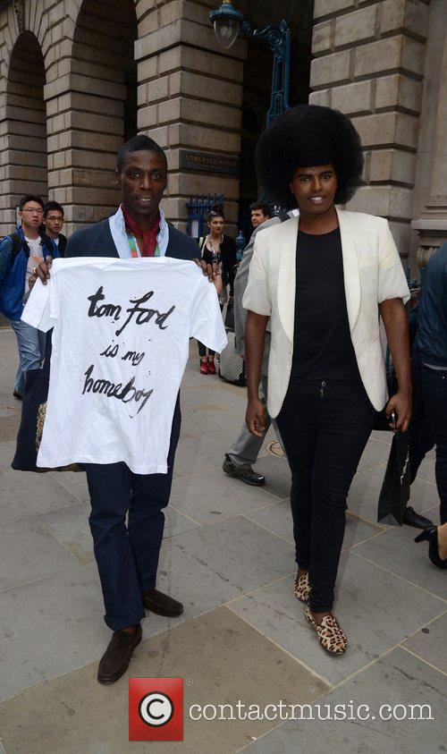 Leroy Dawkins, Prince Cassius and London Fashion Week 1