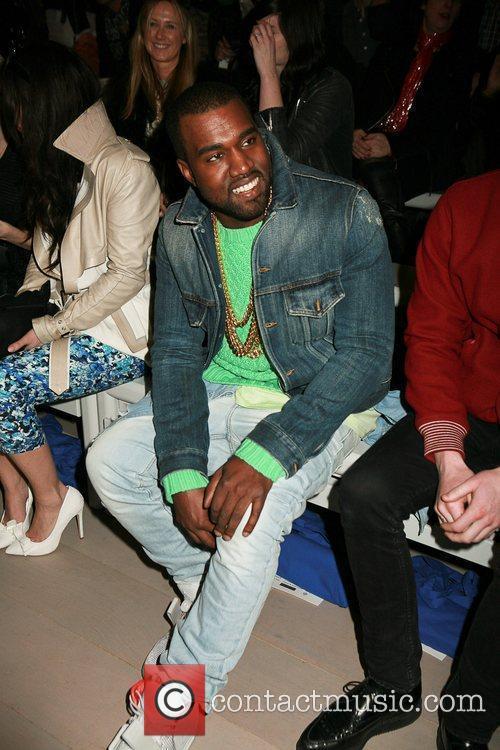 Kanye West London Fashion Week - Autumn/Winter 2012...