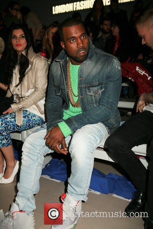 Kanye West and London Fashion Week 8