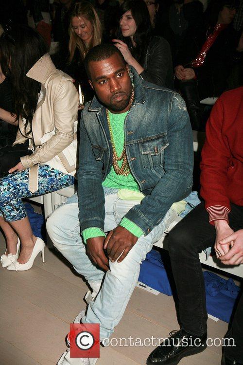 Kanye West and London Fashion Week 9
