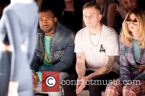 Kanye West, Nicola Roberts London Fashion Week -...