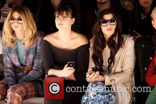 Nicola Roberts, Gizzi Erskine  London Fashion Week...
