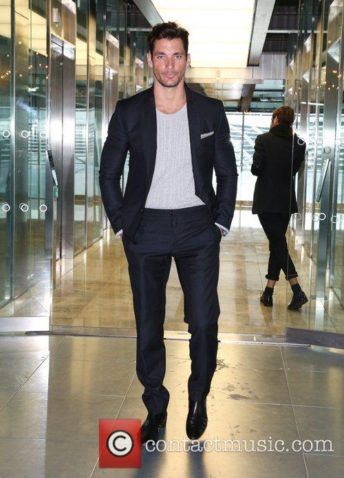 David Gandy London Fashion Week Spring/Summer 2013 -...
