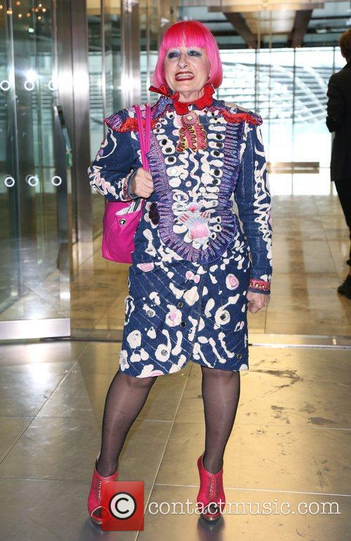Zandra Rhodes London Fashion Week Spring/Summer 2013 -...