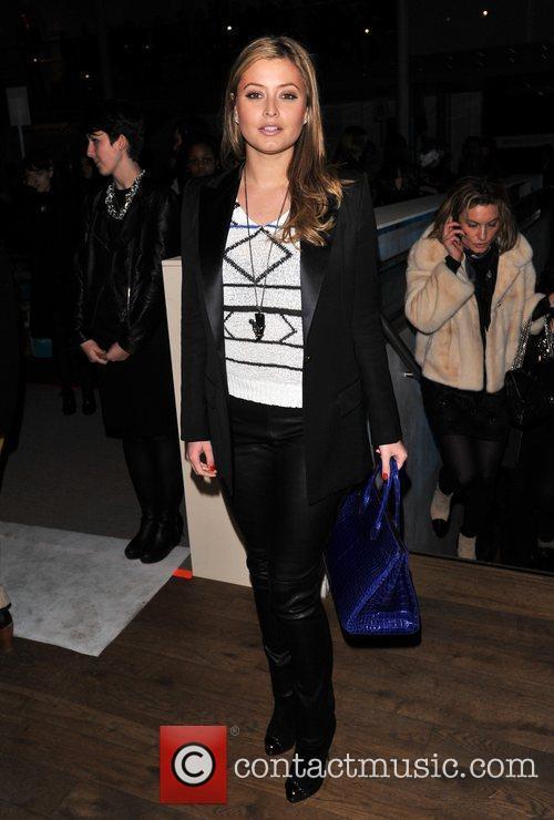 Holly Valance London Fashion Week - Autumn/Winter 2012...