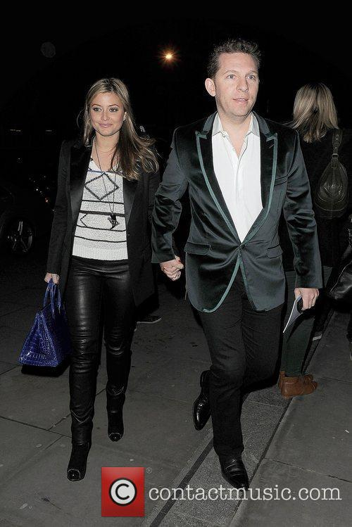 Holly Valance and London Fashion Week 1