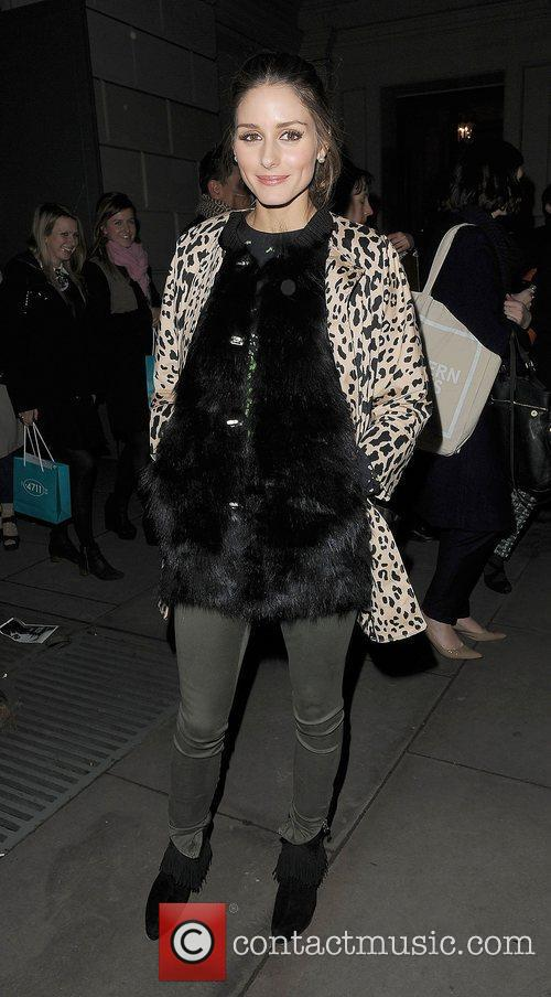 Olivia Palermo and London Fashion Week 2