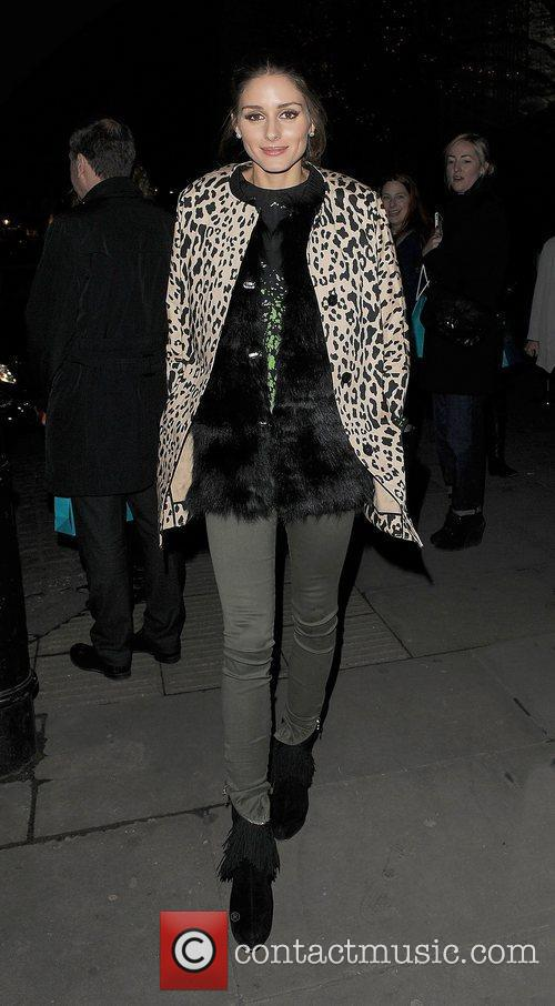 Olivia Palermo and London Fashion Week 3