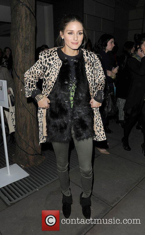 Olivia Palermo and London Fashion Week 5