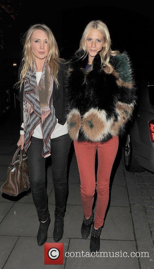 Poppy Delevigne London Fashion Week Autumn/Winter 2012 Matthew...