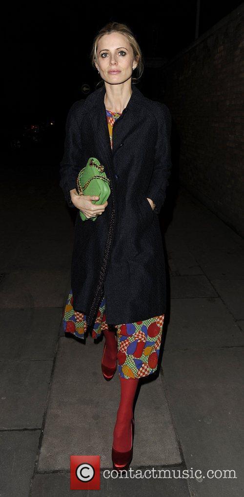 London Fashion Week 2012 Matthew Williamson show arrivals.
