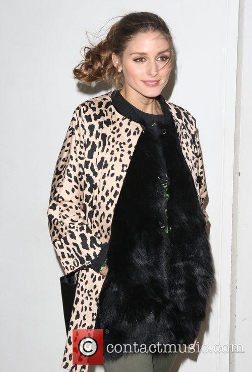 Olivia Palermo and London Fashion Week 5