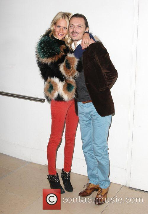 Poppy Delevigne and Matthew Williamson London Fashion Week...