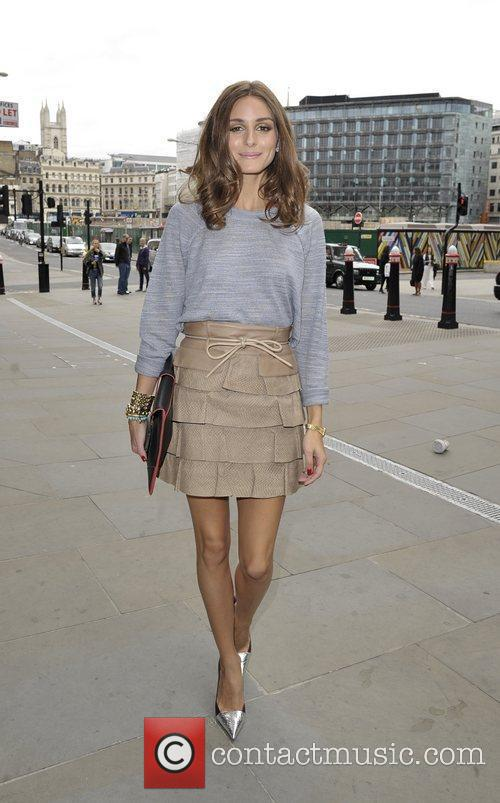 Olivia Palermo London Fashion Week Spring/Summer 2013 -...