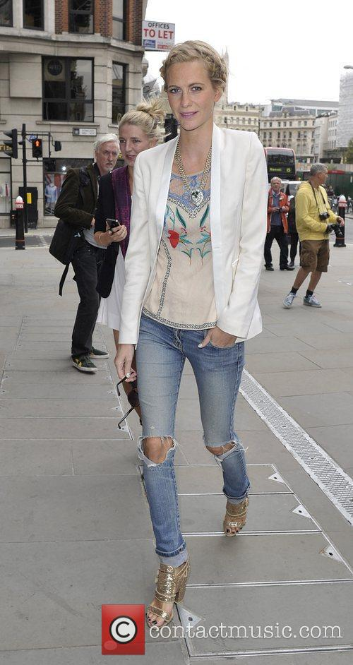 Poppy Delevigne London Fashion Week Spring/Summer 2013 -...