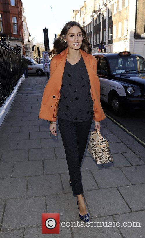 Olivia Palermo London Fashion Week Autumn/Winter 2012 -...
