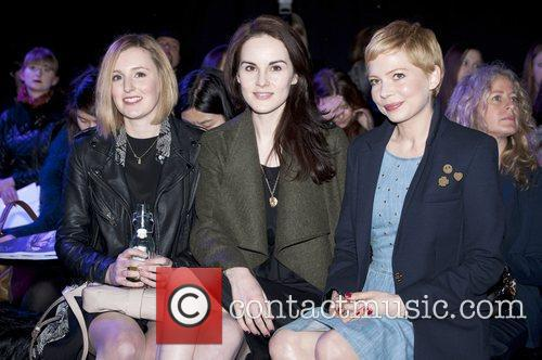 Laura Carmichael, Michelle Williams and London Fashion Week 1