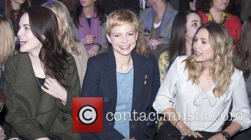 Michelle Williams, Elizabeth Olsen and London Fashion Week 2