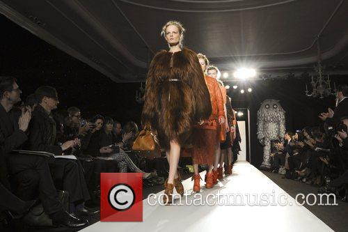 Model, Laura Carmichael and London Fashion Week 5