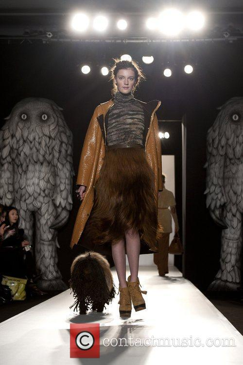 Model, Laura Carmichael and London Fashion Week 6