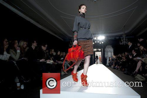 Model, Laura Carmichael and London Fashion Week 7
