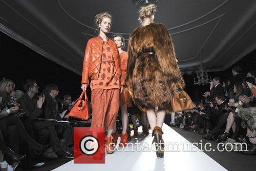 Model, Lana Del Rey and London Fashion Week 1