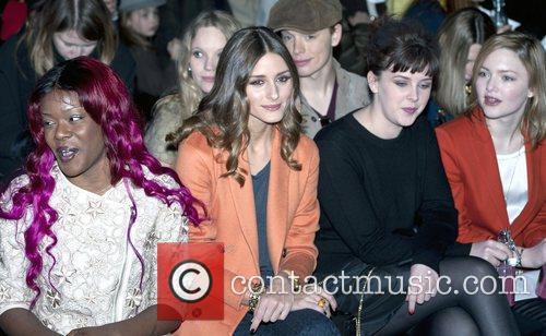 Olivia Palermo and London Fashion Week 1