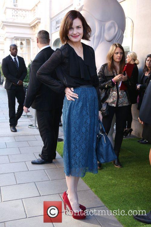 Elizabeth McGovern London Fashion Week Spring/Summer 2013 -...