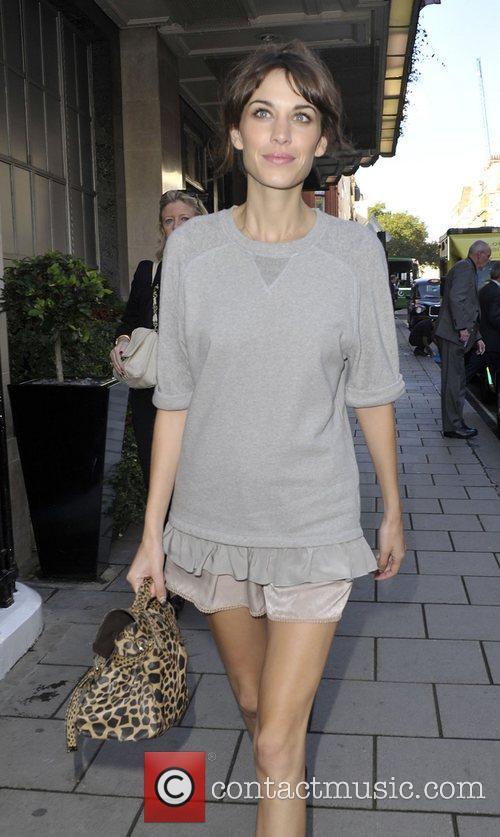 Alexa Chung London Fashion Week Spring/Summer 2013 -...