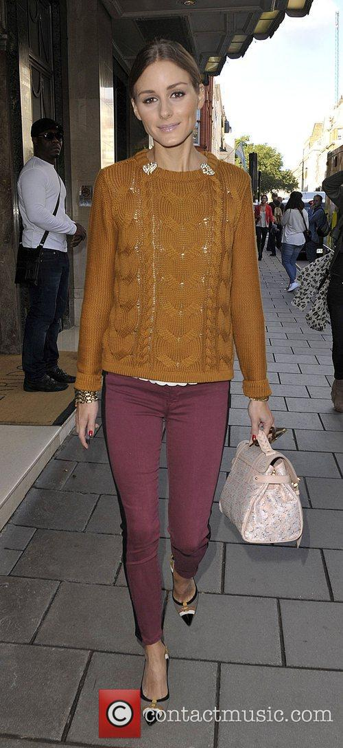 Olivia Palermo London Fashion Week Spring/Summer 2013 -...