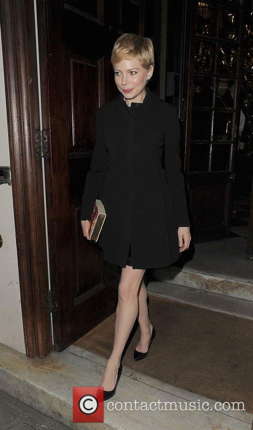 Michelle Williams and London Fashion Week 6