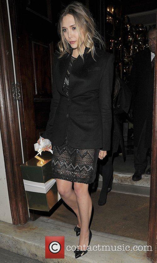 Elizabeth Olsen and London Fashion Week 8