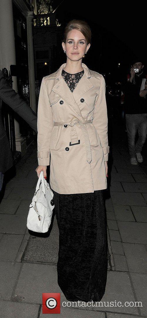 Lana Del Rey and London Fashion Week 3