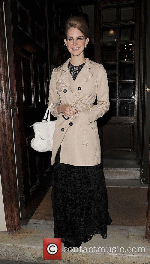 Lana Del Rey and London Fashion Week 6
