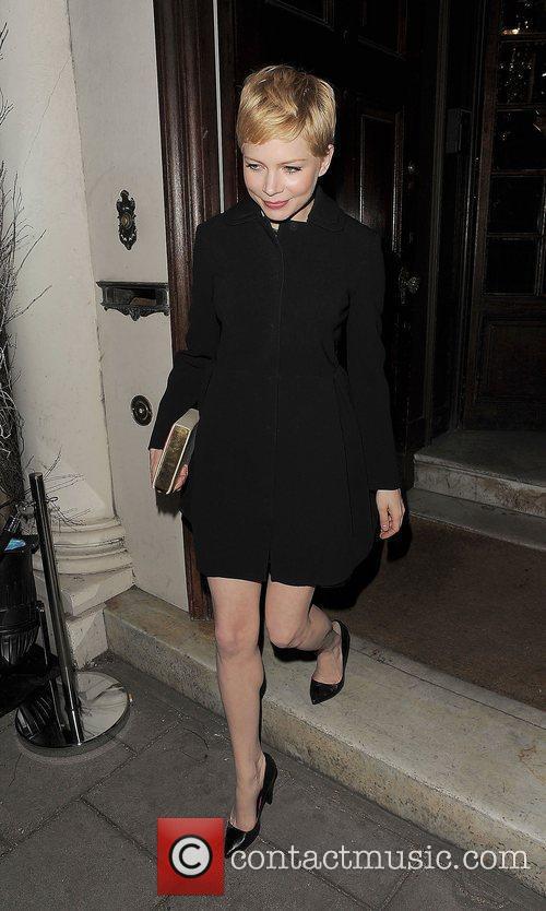 Michelle Williams and London Fashion Week 4